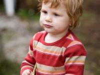 A toddler at Sumava