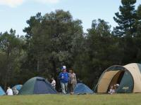 The camp ground