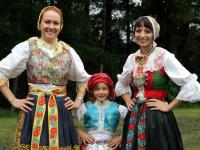 Traditional folklore costumes